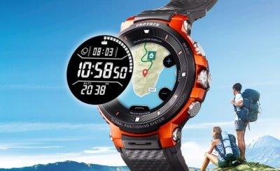 Casio's Pro Trek WSD F-30 smartwatch gives 30 days battery life