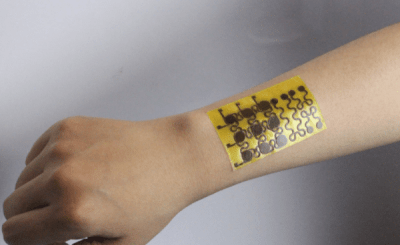 This e-skin wearable is flexible, self-healing, recyclable and environmental friendly