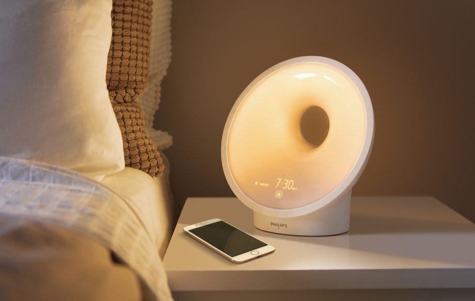 Philips Somneo smart connected lamp enhances your bedtime experience
