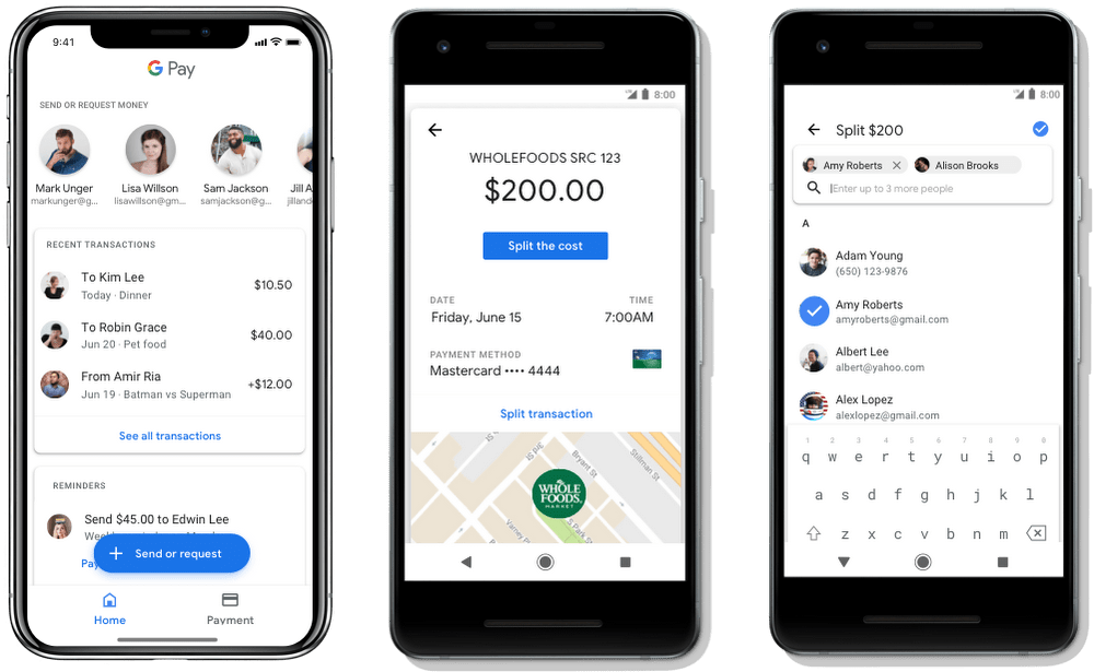 Now you can send and receive money via Google pay, save concert tickets and more