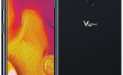 LG V40 ThinQ to Sport Five Cameras and a Notch: Leaked Official Image