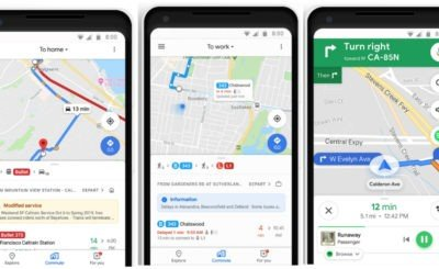 "Google Maps adds ""commute tab"" to simplify daily commute and ""music controls"" to control tunes within the app"