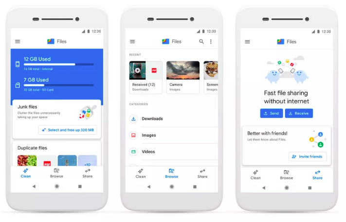 Google's Files Go hits 30 million users and it is now rebranded as Files by Google