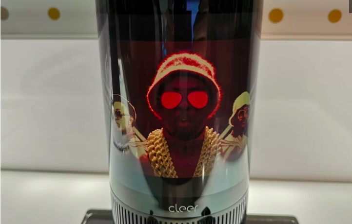 Cleer Mirage-Smart Alexa integrated Bluetooth speaker sports foldable AMOLED display: CES 2019