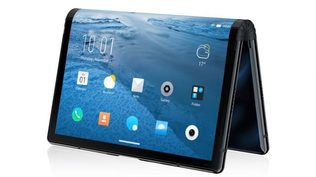 Flexpai-worlds first foldable smartphone arrives with Snapdragon 855 SoC,water OS: CES 2019
