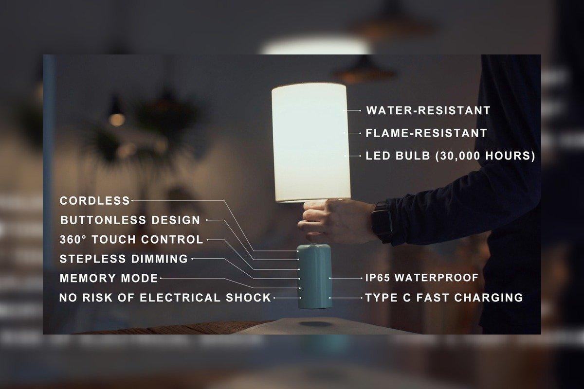 Cuppa Cordless LED Lamp Kickstarter Campaign