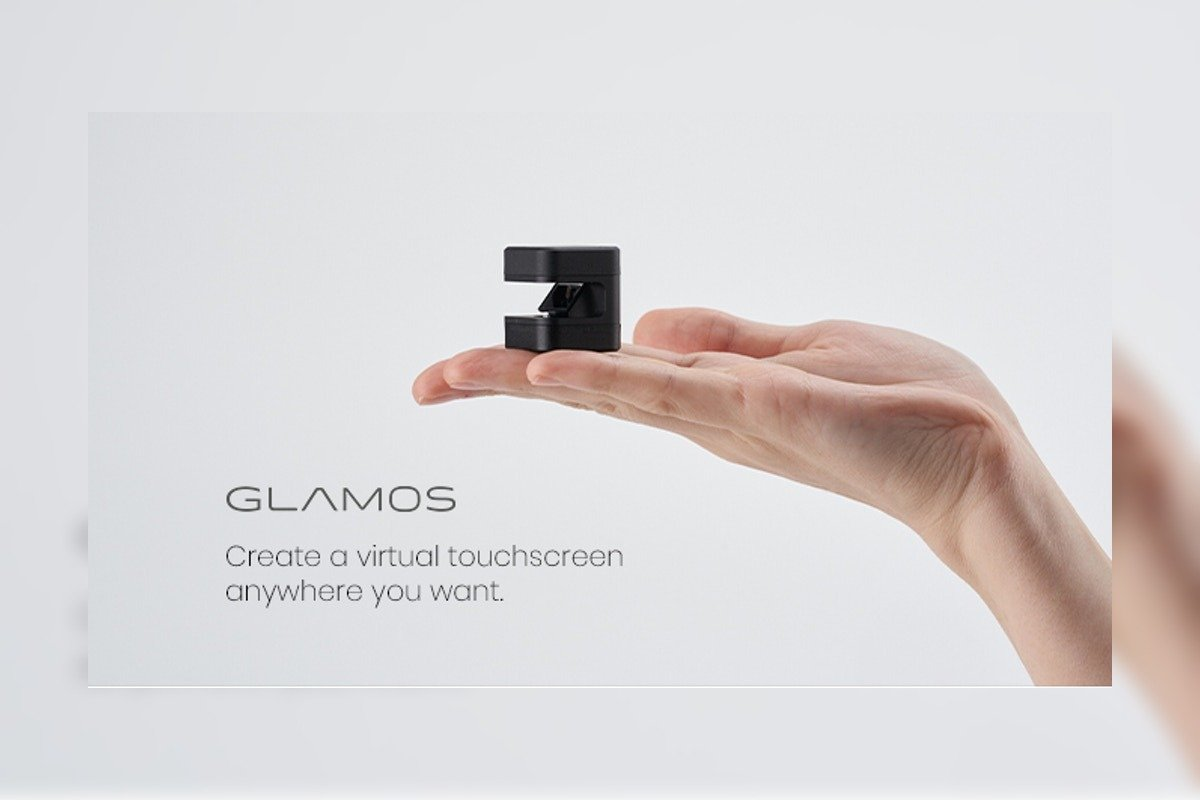 Glamos Creates Virtual Touch Screen Interface
