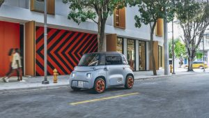 Citroens Ami Electric Car