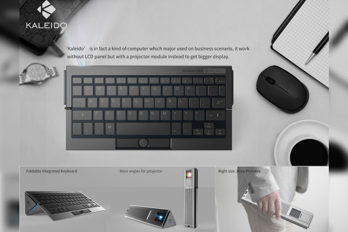 Kaleido Portable screenless PC