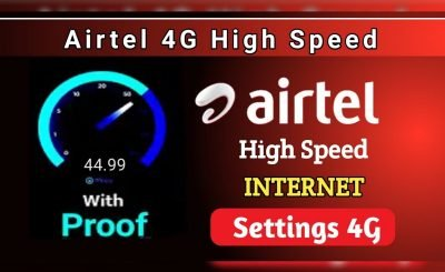 Airtel APN Settings Faster 4G Internet